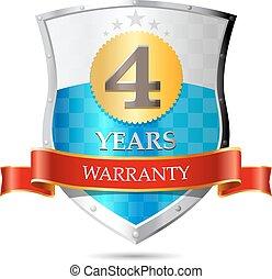 Warranty - four years