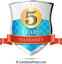 Warranty - fife years