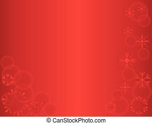 Winter Snowflake Holiday Template Background