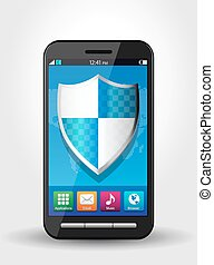 Cellphone security, safety concept