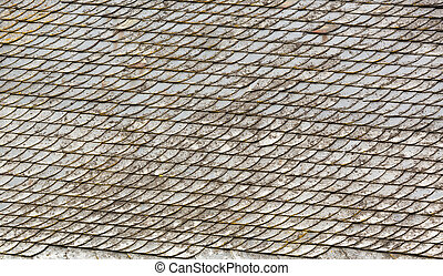 Tiled roof - Detailed view of tiled roof