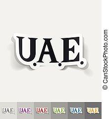 realistic design element United Arab Emirates - United Arab...