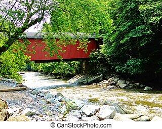 coberto, ponte