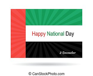 UAE National Day - UAE Happy National Day. 2 December....