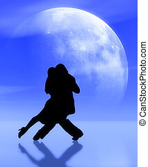 tango2 - Dancing in the moonlight