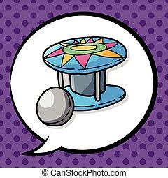 Pinball doodle