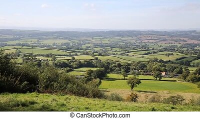 Blackdown Hills Devon countryside - Blackdown Hills east...