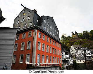 Monschau red house