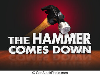 The Hammer Comes Down Moment Judgment Decisive Force - The...