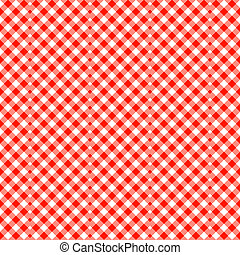 Seamless patterns - Classical red-white diagonal seamless...