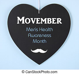 Movember fundraising for mens health awareness charity...