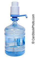 Pump Dispenser on 5 Gallon Drinking Water bottle - Hand...