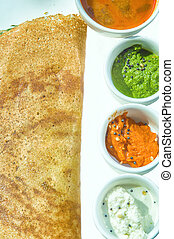 Masala Dosa, Dosa, South Indian snack