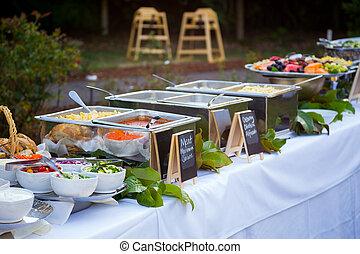 Wedding Reception Buffet Dinner