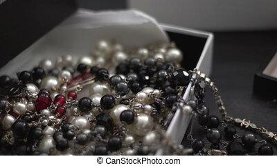 Beads in a box 2 - Magnificent semi-precious or precious...