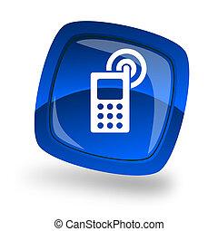 cellphone internet button