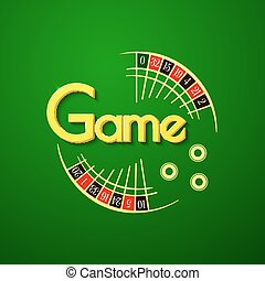 Game vector logo - Game logo, casino typography design,...