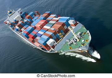 Schiff, behälter