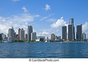 Detroit, cartão postal
