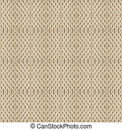 Aran knit seamless - A seamless background of cable knitted...