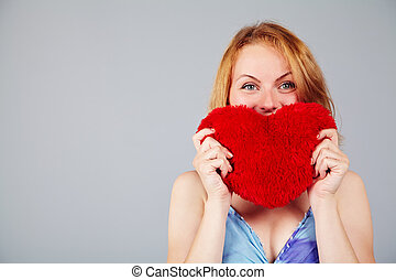 woman waiting for Valentine's Day
