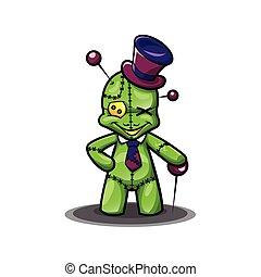 Voodoo Doll cartoon