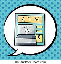 ATM doodle