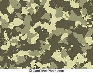 Seamless woodland camo pattern vector - Seamless woodland...