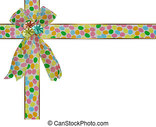 Easter Border ribbons