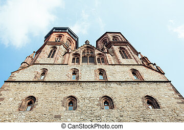 Johannis church in Goettingen - Germany, Lower Saxony. -...