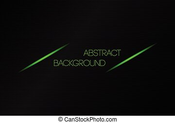 Metallic black abstract vector background with place for your text
