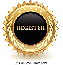 Register gold badge