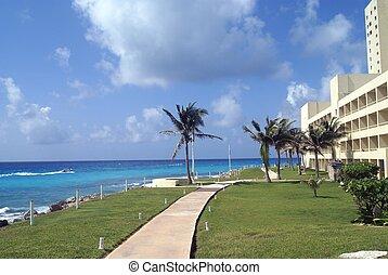 Seaside scene - Seaside view