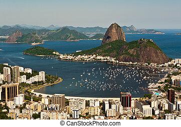 Sugarloaf Mountain, Rio de Janeiro - Sugarloaf Mountain and...