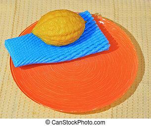 Citron - etrog - fruit for Jewish holiday of Sukkot - Citron...
