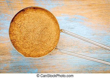 cinnamon cassia powder - cinnamon cassia bark powder in a...