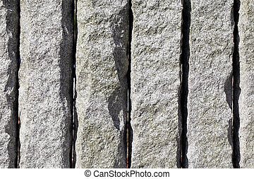 granite stone wall - background of granite stone wall...