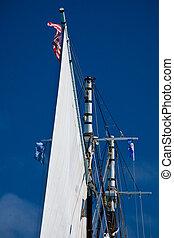 schooner in BVI winter 2010