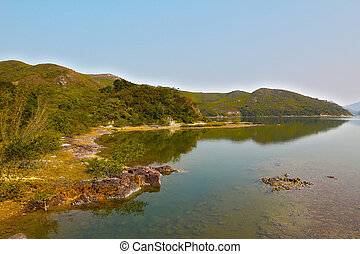 Plover Cove Country Park ,Sam A Wan, hong kong - Plover Cove...