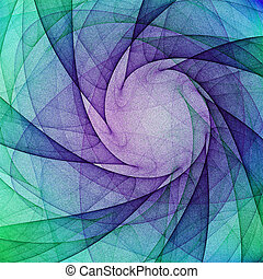 Fractal background lines and patterns for illustration...