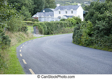 Rural Road, Killarney; County Kerry; Ireland