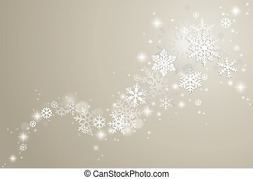 Winter holiday background - Winter background with swirl of...