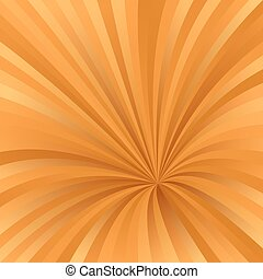 Orange color abstract burst design background - Orange color...