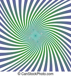 Green purple spiral design background