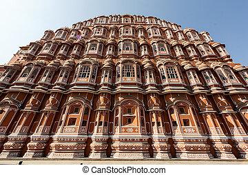 Hawa Mahal palace in Jaipur - Hawa Mahal palace Palace of...