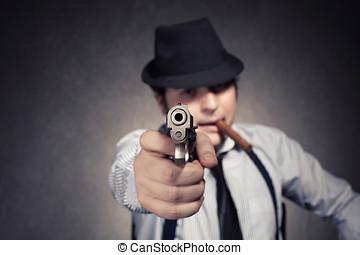mafia gun