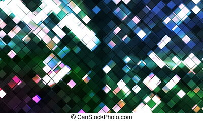 Broadcast Twinkling Squared Diamonds, Multi Color, Abstract,...