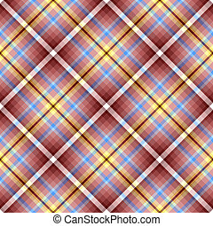 Abstract seamless cross brown  pattern