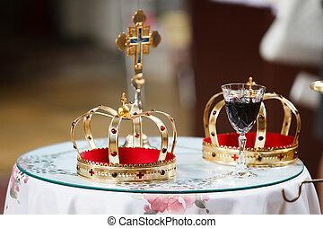 王冠, 教堂