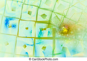 Abstract fractal background - A abstract fractal background...